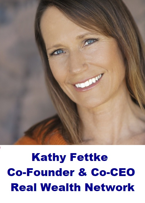 An interview on the Real Wealth Show OR a 1 hour coaching session with Kathy Fettke